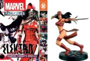 Marvel Fact Files Elektra Special With Figurine Eaglemoss